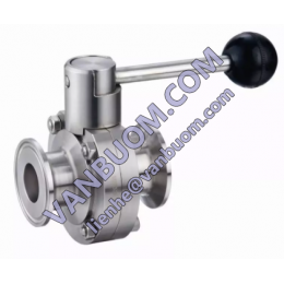Butterfly valve with actuator 1