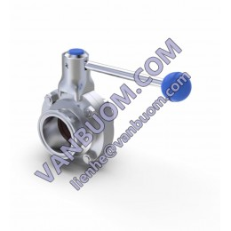 Ex Factory Price Pull Handle Stainless Steel 1 inch 2 inch Butterfly Valve