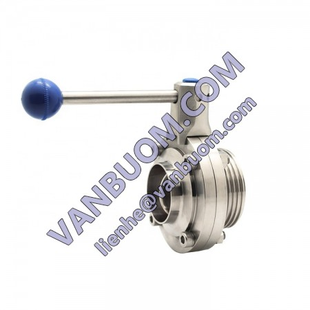 Sanitary Butterfly Valve Price List Stainless Steel 1 inch 4 inch Butterfly Valve